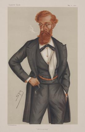 James Ludovic Lindsay, Scottish astronomer, 1878.