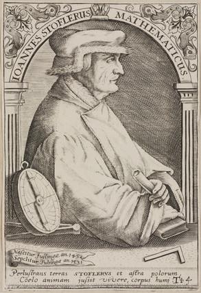 Johannes Stoeffler, German astrologer, 16th century.