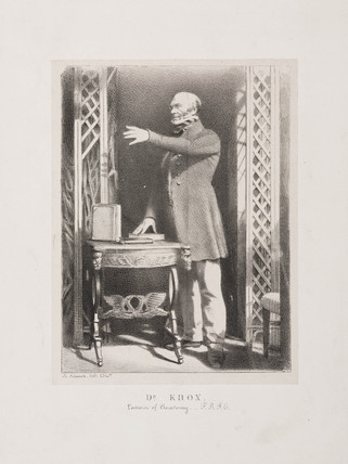 Robert Knox, British anatomist and ethnologist, 19th century.