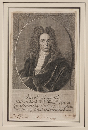 Jacob Leupold, mechanical engineer, c 1700.