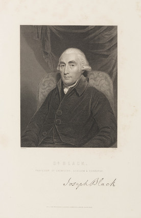 Joseph Black, Scottish chemist, c 1780s.