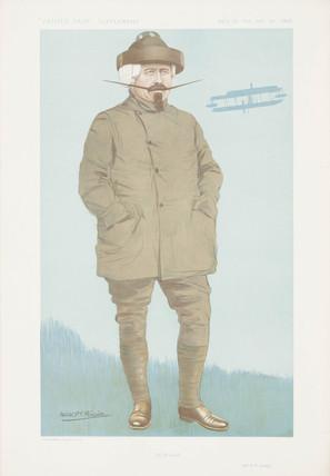 Samuel Franklin Cody, British aviator, 1911.