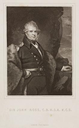 Sir John Ros, Scottish naval officer and explorer, c 1820s.