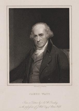 James Watt, Scottish engineer, 1801.