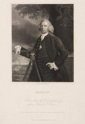 James Brindley, British civil engineer and canal builder, 1773.