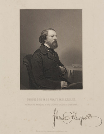 James Sheridan Muspratt, Irish chemist, c 1870.