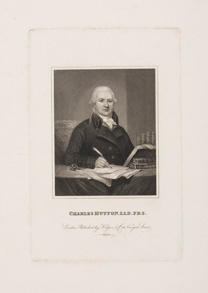 Charles Hutton, British mathematician, late 18th-early 19th century.
