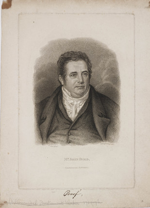 John Bird, lecturer in astronomy, 1825.
