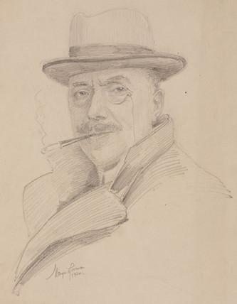 Mervyn O'Gorman, British aeronautical designer, 1920.