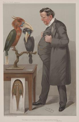 Edwin Ray Lankester, English zoologist, late 19th century.