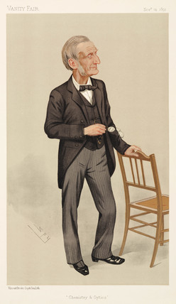 Profesor John Hall Gladstone, chemist, 1891.