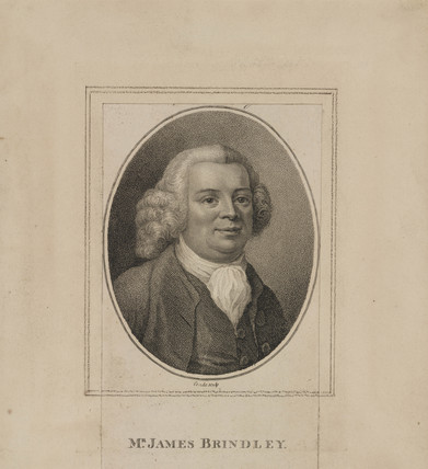 James Brindley, British civil engineer and canal builder, c 1760s.