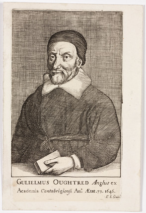 William Oughtred, English mathematician, 1646.
