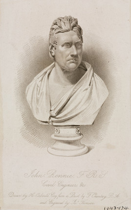 John Rennie, Scottish civil engineer, c 1810s.