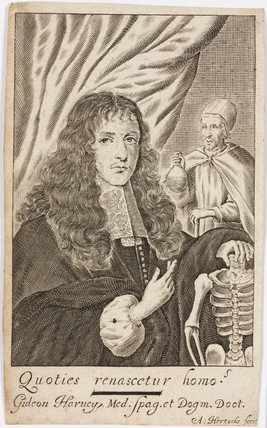 Gideon Harvey, physician, 1672.