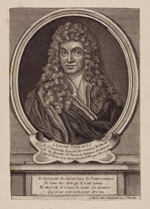 Claude Perrault, French architect, scientist and physician, c 1660s.