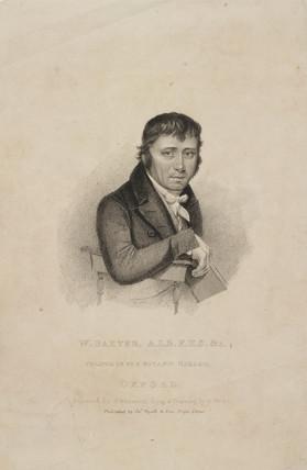 William Baxter, ALS FHS, British botanist, c 1820s.