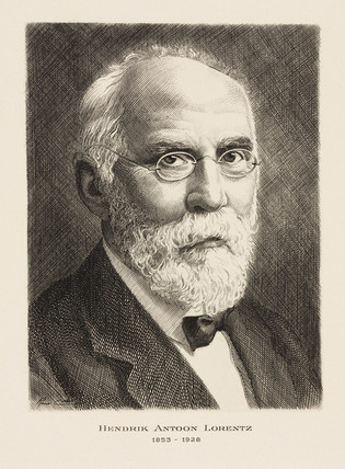 Hendrik Antoon Lorentz, Dutch mathematical physicist, c 1910s.