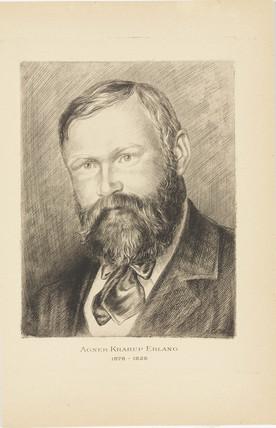 Agner Krarup Erlang, Danish mathematician, (1878-1929).