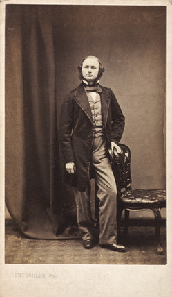 Gustav Robert Kirchhoff, German physicist, c 1860s.