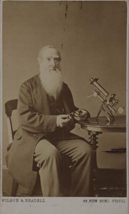 Charles Brooke, British surgeon and inventor, c 1870s.
