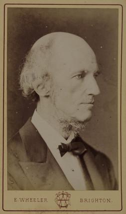 William Benjamin Carpenter, physiologist and naturalist, c 1870s.