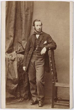Robert Lucas Chance, glas manufacturer, c 1850.