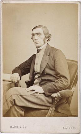 John Rusell Hind, astronomer, 1854-1866.