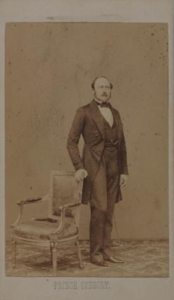 Prince Albert, Consort of Queen Victoria, 1860.