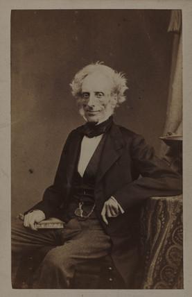 Alphonse de Brebison, French botanist, c 1863.