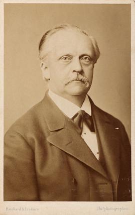 Hermann von Helmholtz, German physicist, c 1860-1880.