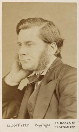 Thomas Henry Huxley, British biologist, c  1865-1886.