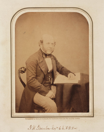 Peter William Barlow, British civil engineer, 1854-1861.