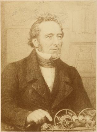 Edward Cowper, British inventor, c 1830.