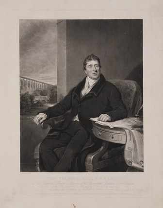 Thomas Telford, Scottish civil engineer, c 1810.