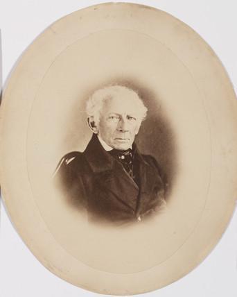 Johann Georg Bodmer, Swis engineer and inventor, c 1850s.