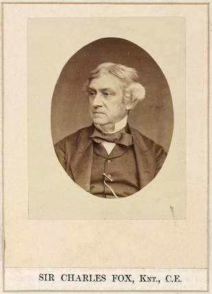 Charles Fox, engineer, c 1860s.
