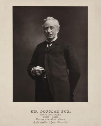 Sir Douglas Fox, British civil engineer, c 1900s.