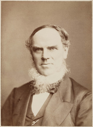 John Ramsbottom, English railway engineer, c 1871.