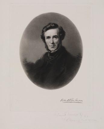 Sir Robert Rawlinson, English engineer and sanitarian, c 1860.