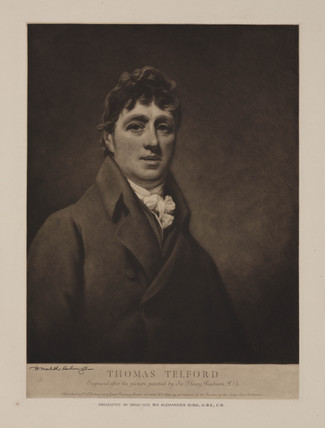 Thomas Telford, Scottish civil engineer, c 1800.