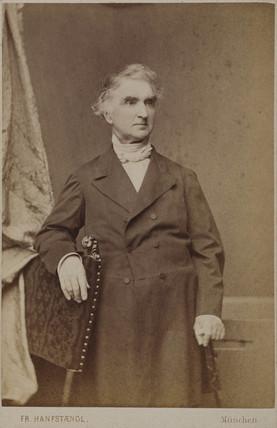 Justus von Liebig, German chemist, c 1860-1873.