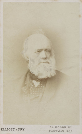 Sir Charles Lyell, English geologist, c  1865-1875.