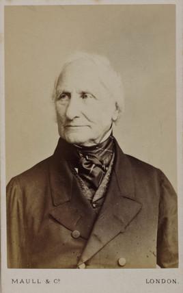 Sir Edward Sabine, British geophysicist, astronomer and explorer, c 1870s.