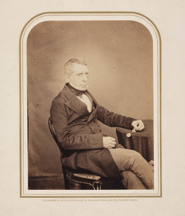 George Biddell Airy, English geophysicist and astronomer, c 1860s.