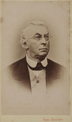 Carl Theodor Ernst von Siebold, German physiologist and zoologist, c 1870.