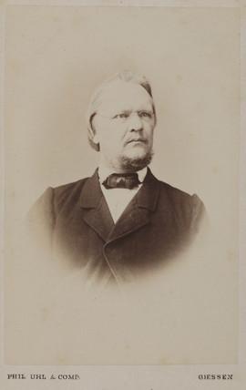 Rudolf Leuckart, German zoologist, c 1870s.
