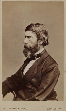 Alexander William Williamson, Scottish chemist, c 1865.