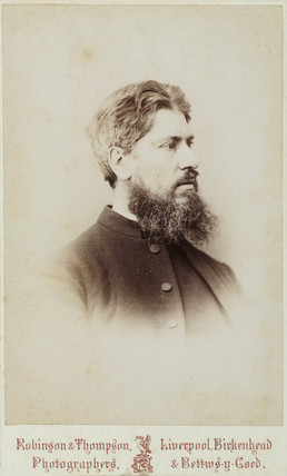 Reverend John Edward Vize, c 1870s.