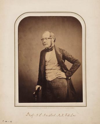 David Thomas Ansted, geologist, 1854-1859.